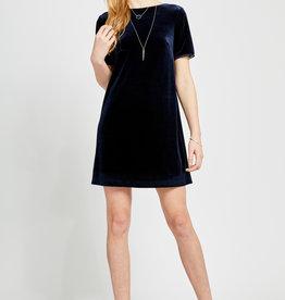Gentle Fawn Claire Velvet T-Shirt Dress