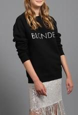 Brunette the Label Silver Glitter Crew - Blonde