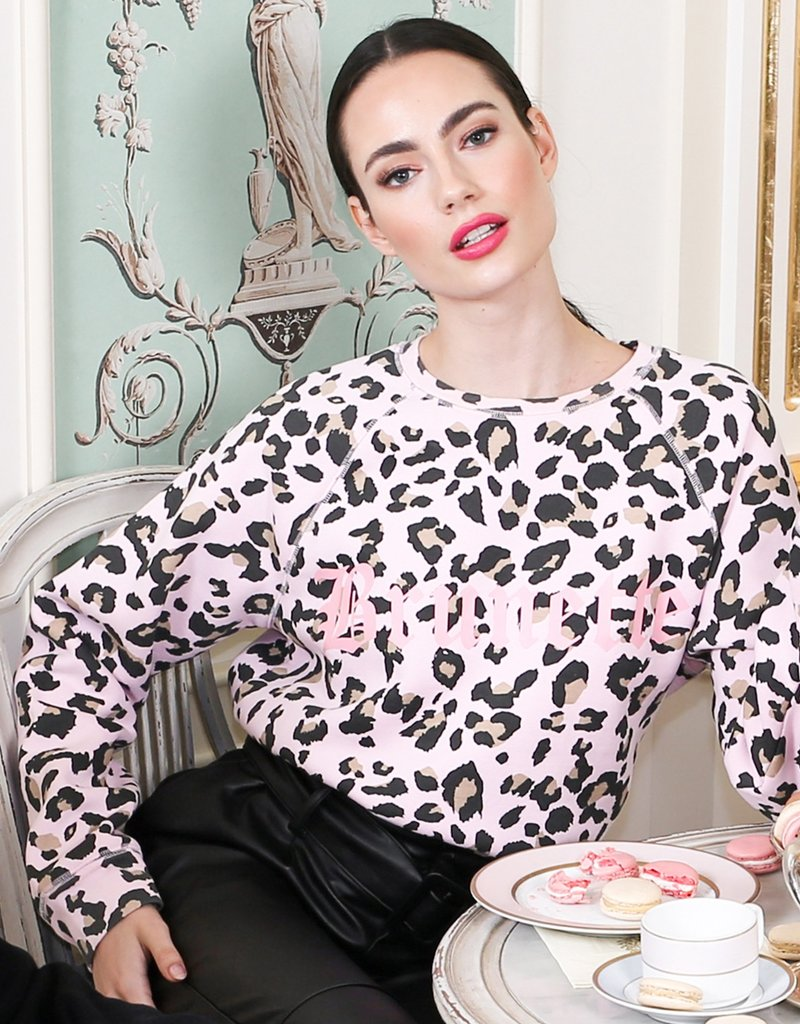 Brunette the Label Juicy Middle Sister Leopard - Brunette