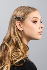 Brunette the Label Hair Clip - Babe