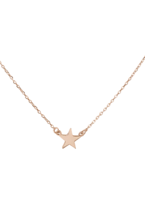 Right Hand Gal Right Hand Gal -Star Necklace in 14K Rose Gold