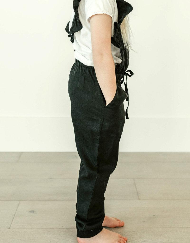 Privilege Juelia Mini Overall Black