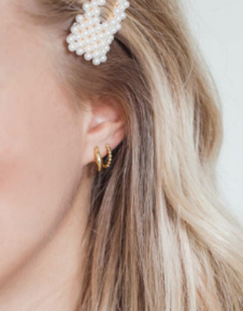 Lavender & Grace Grace Huggie Earring