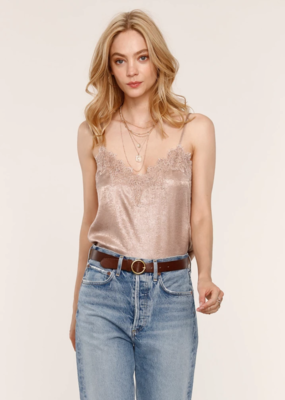 Heartloom Andra Cami in Champagne Shimmer