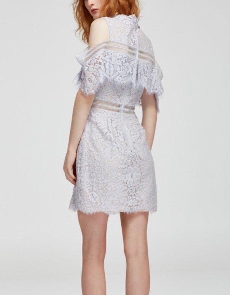 Keepsake Oblivion Lace Mini Dress