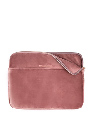 My Tagalongs Rose Velour Laptop Sleeve