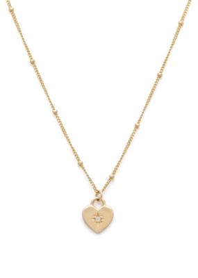 Melanie Auld Melanie Auld - Heart Lock Necklace