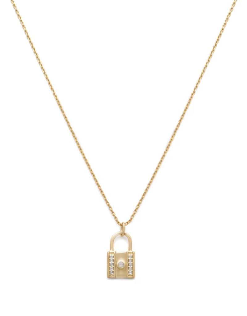 Melanie Auld Lock Necklace