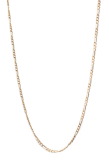 "Lisbeth Augustine Chain Necklace - Gold 18"""