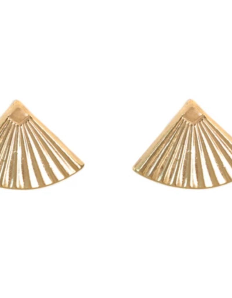 Lisbeth Mini Fan Earring