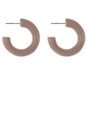 Lisbeth Arc Nude Hoops