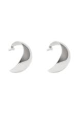 Lisbeth Hannah Hoop Earring - Silver