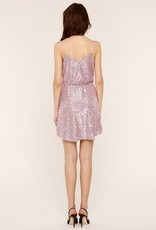 Heartloom Rue Sequin Dress in Lilac