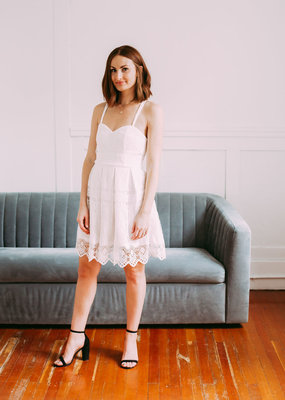 Minuet Lily Lace Eyelet Dress
