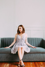 Minuet Charlotte Lace Mini Dress in Lilac
