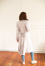Gentle Fawn Strauss Jacket in Pale Grey