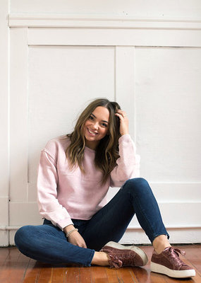 Gentle Fawn Cohen Cropped Sweatshirt