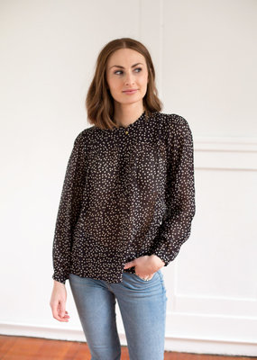 InWear Aberte Spotted Blouse