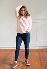 Brunette the Label Blonde Crew - Ballet Pink