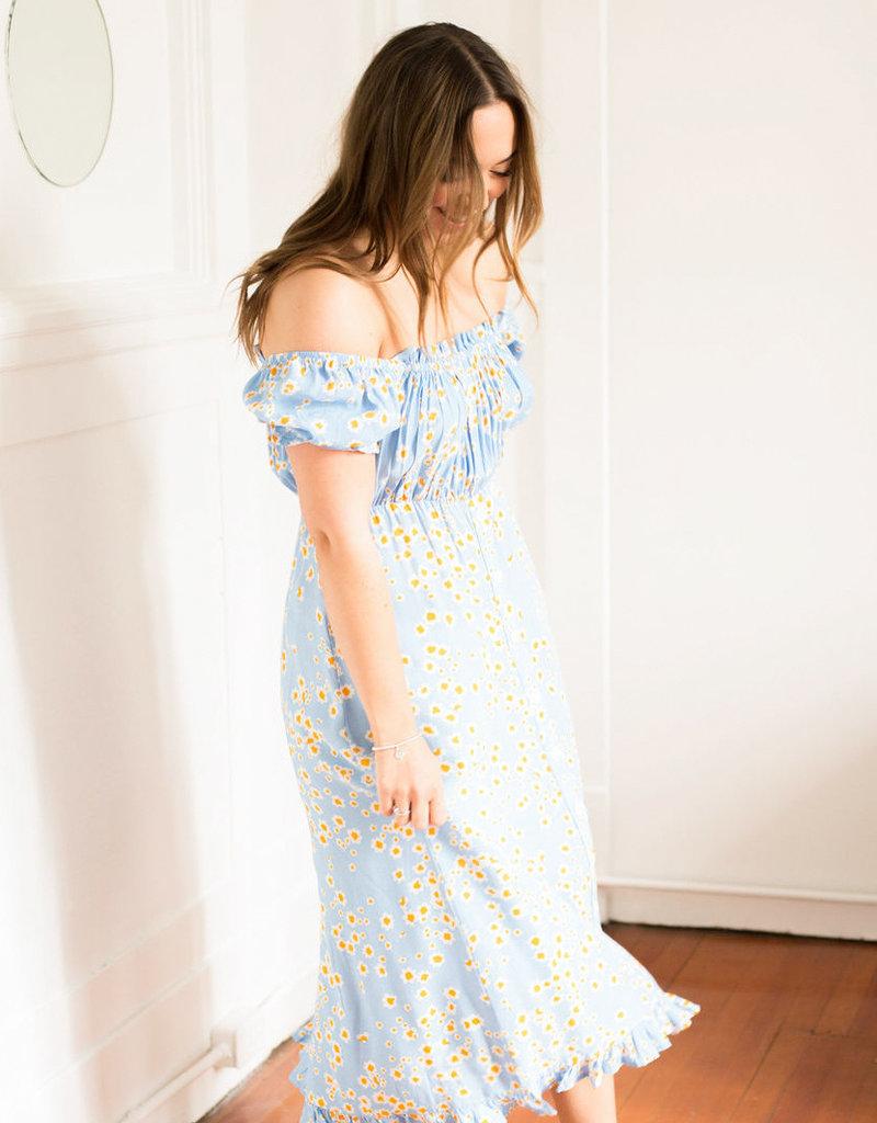Faithfull Ina Midi Dress