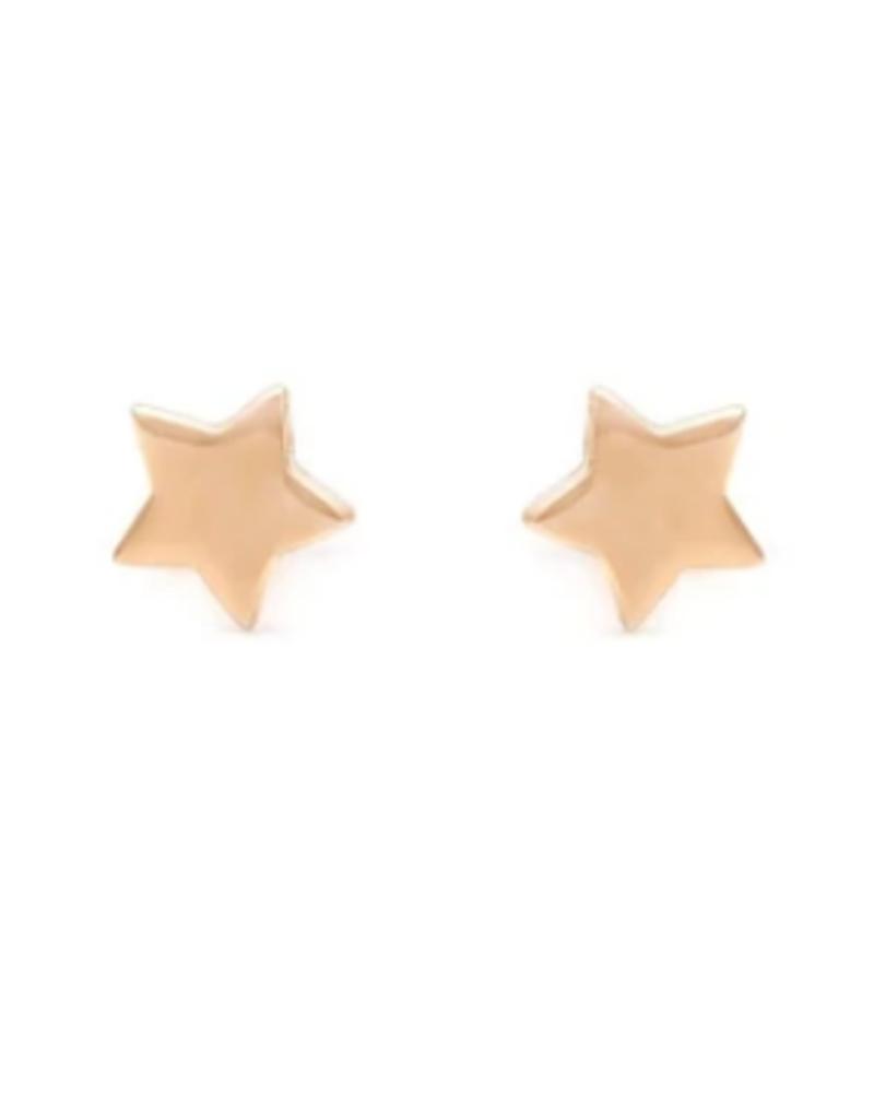 Melanie Auld Melanie Auld - Gold Star Stud Earring