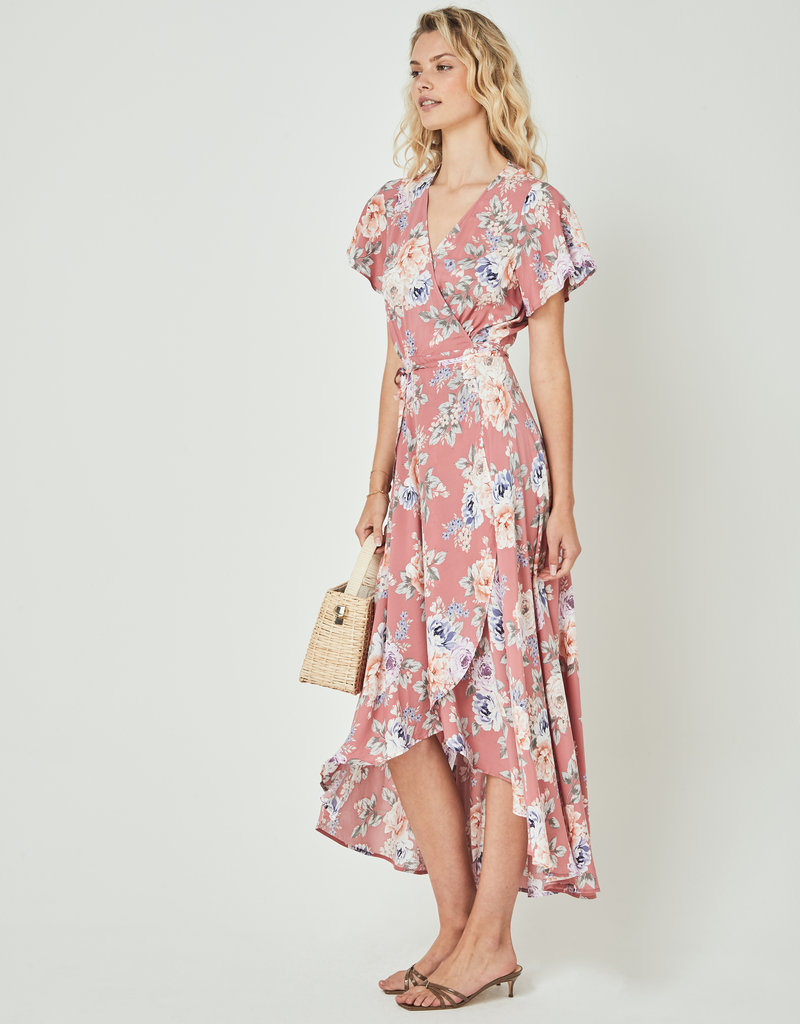 Auguste the Label Pascal Muse Wrap Dress Rose