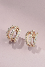 Olive & Piper Harper Huggie Earring