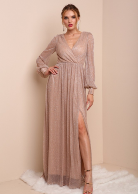 Soieblu Kira Long Sleeve Maxi Dress