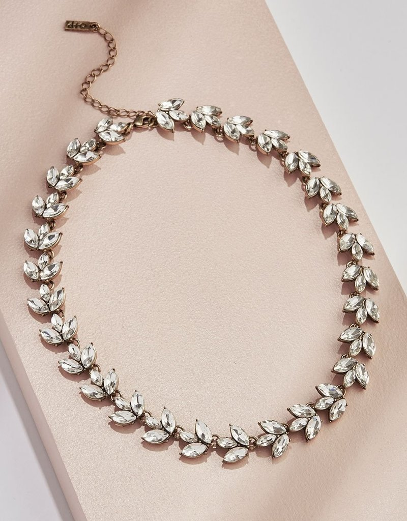 Olive & Piper Sophia Crystal Collar Necklace