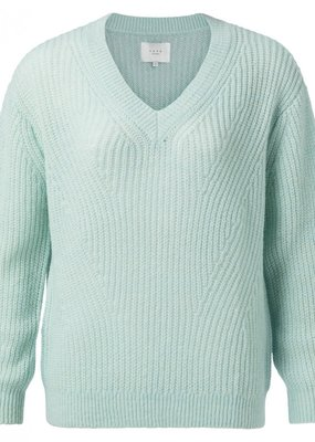 Yaya Pullover Knit Sweater in Icy Blue