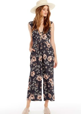 Saltwater Luxe Taylor Jumpsuit in Garden Rose
