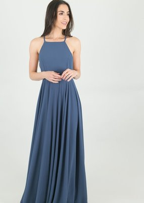 Skylar Belle Payton Maxi Dress - Dark Blue