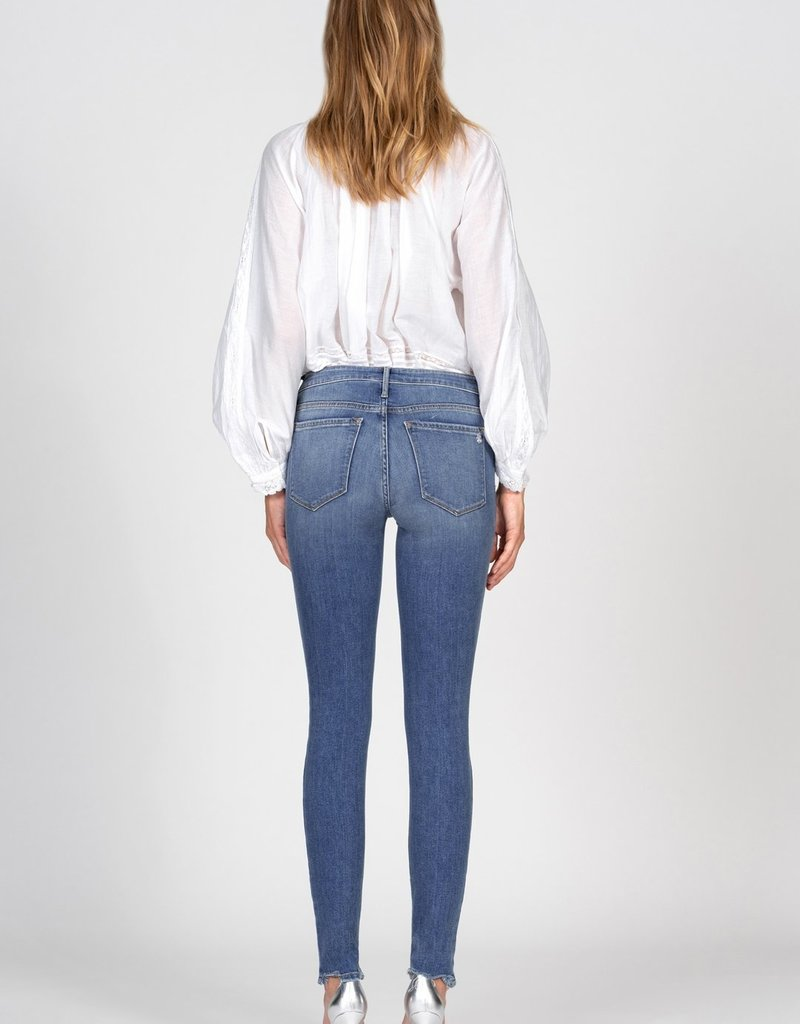 Black Orchid Jude Mid Rise Skinny in Perfect 10 Wash