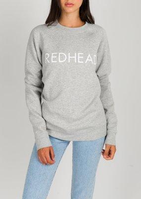 Brunette the Label Brunette the Label - Redhead Sweatshirt in Pebble Grey
