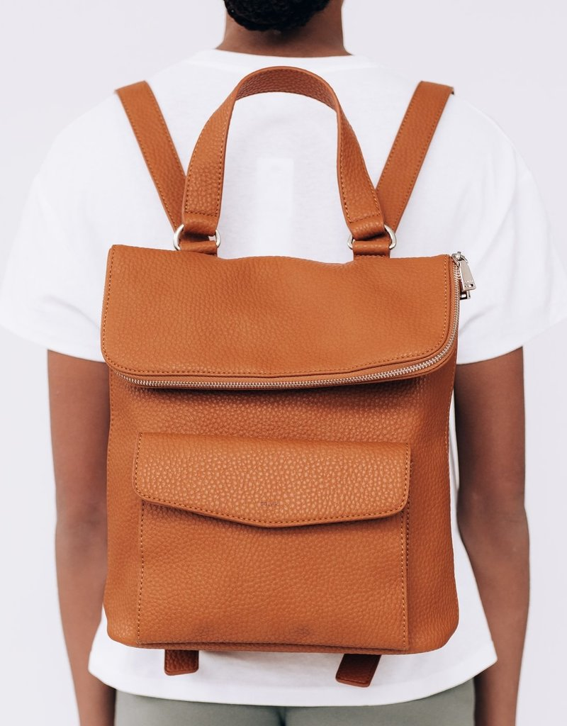Colab Pebble Square Backpack with Pouch