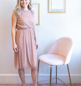 Molly Bracken Kate Dress in Rose Gold