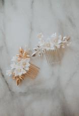 Luna & Stone Paloma Hair Comb (Silver)
