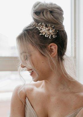 Luna & Stone Luna and Stone - Iris Hair Wreath