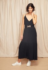 Louizon Bill Belted Slip Dress