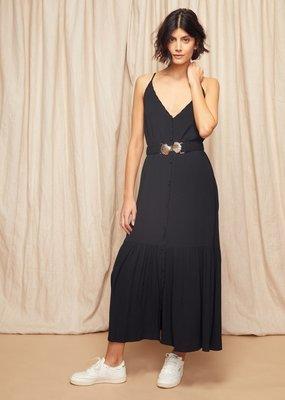 Louizon Billie Belted Slip Dress
