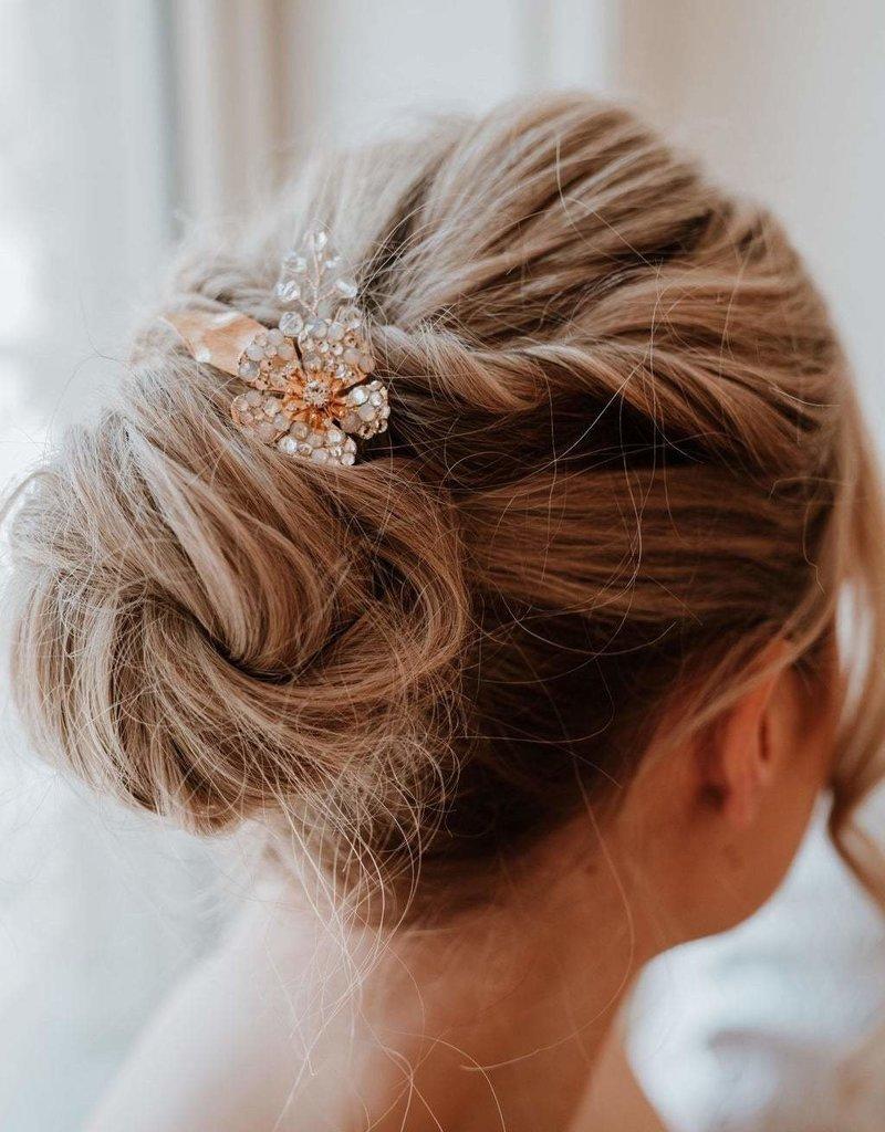 Luna & Stone Amaryllis Hair Pin