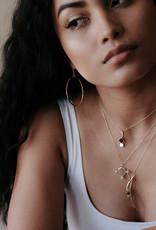 Sarah Mulder Sorn Necklace - Rose Quartz