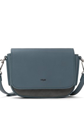 Colab Small Crossbody with Suede Back Pocket