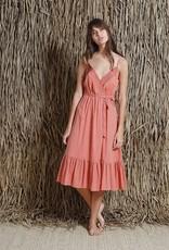 Indi and Cold Prairie Peach Dress