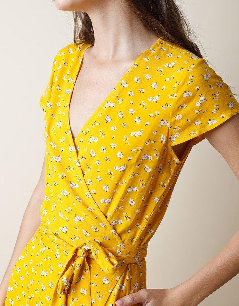 Indi & Cold June Wrap Dress
