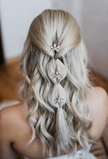 Luna & Stone Aster Hair Pin - Gold