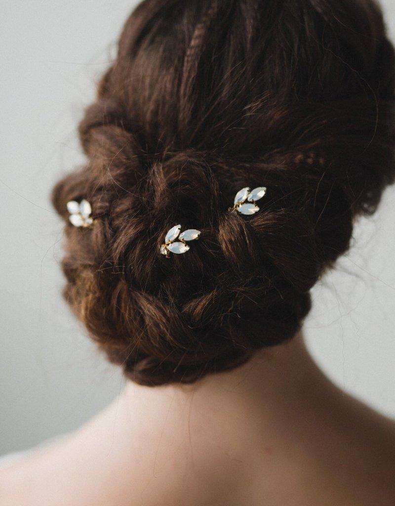 Luna & Stone Opal Hair Pin