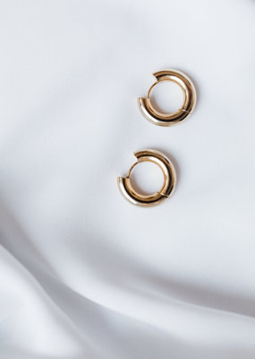 Lavender & Grace Maisy Hoops - Gold
