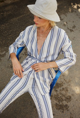 Designers Society Striped Cover-Up