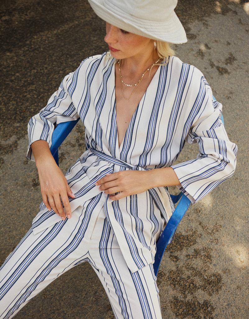 Designers Society Striped Kimono